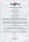 NT60 - Prohlášení + CE