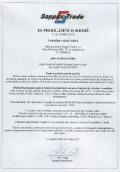 NT68HI - Prohlášení + CE